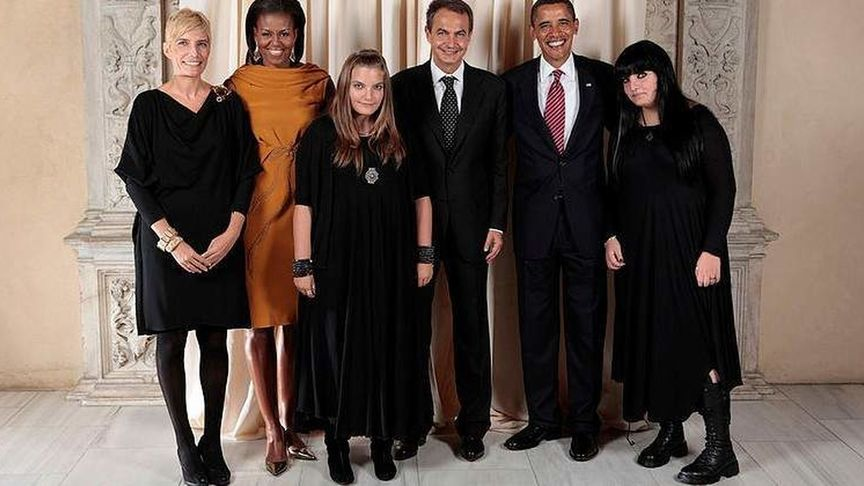 hijas góticas de Zapatero